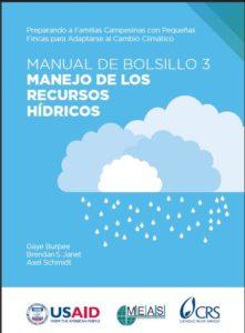 Manual de manejo de los recursos hídricos.