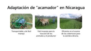 Agricultura de conservación mecanizada