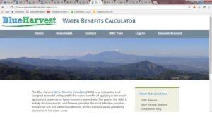 Herramienta de Water Balance Calculator online